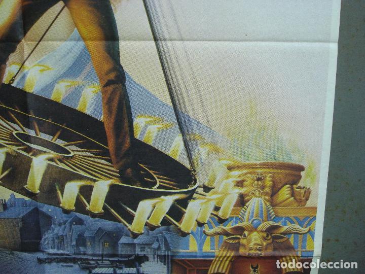 Cine: CDO 2047 EL SECRETO DE LA PIRAMIDE SHERLOCK HOLMES SPIELBERG LEVINSON POSTER ORIGINAL 70X100 ESTRENO - Foto 8 - 203170441