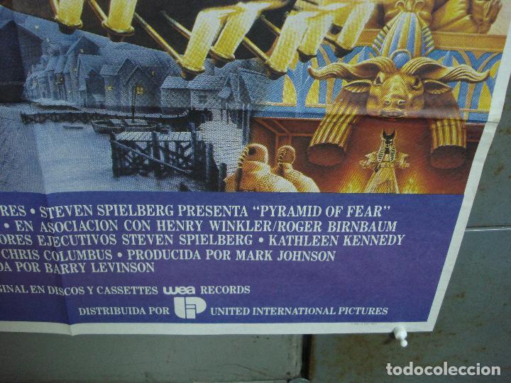 Cine: CDO 2047 EL SECRETO DE LA PIRAMIDE SHERLOCK HOLMES SPIELBERG LEVINSON POSTER ORIGINAL 70X100 ESTRENO - Foto 9 - 203170441