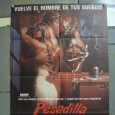 Cinema: CDO 2052 PESADILLA EN ELM STREET 2 LA VENGANZA DE FREDDY ROBERT ENGLUND POSTER ORIG 70X100 ESTRENO. Lote 203230088