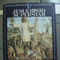 Cine: CDO 2056 JESUCRISTO SUPERSTAR NORMAN JEWISON TED NEELEY ORIGINAL ESTRENO 70X100. Lote 203233506