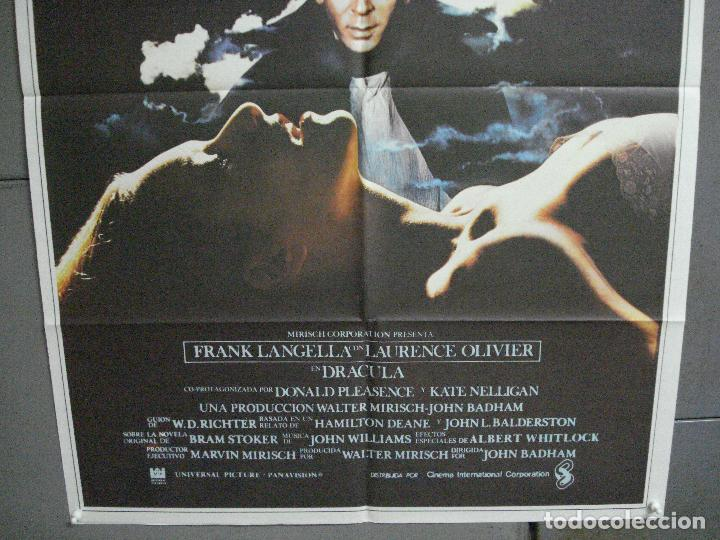 Cine: CDO 2126 DRACULA FRANK LANGELLA LAURENCE OLIVIER JOHN BADHAM POSTER ORIGINAL 70X100 ESTRENO - Foto 3 - 203265297