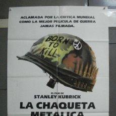 Cinema: CDO 2130 LA CHAQUETA METALICA STANLEY KUBRICK POSTER ORIGINAL 70X100 ESTRENO. Lote 203266387