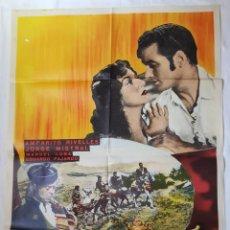 Cine: PÓSTER ORIGINAL LA DUQUESA DE BENAMEJÍ (1967).AMPARITO RIVELLES, JORGE MISTRAL.. Lote 203271477