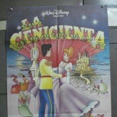 Cine: CDO 2142 LA CENICIENTA WALT DISNEY POSTER ORIGINAL 70X100 ESPAÑOL R-80'S. Lote 203335128