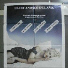 Cine: CDO 2168 EN LA CAMA CON MADONNA KEVIN COSTNER ANTONIO BANDERAS ALMODOVAR POSTER ORIG 70X100 ESTRENO. Lote 203356395
