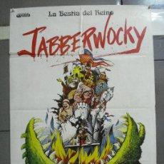 Cine: CDO 2170 LA BESTIA DEL REINO JABBERWOCKY MONTY PYTHON POSTER ORIGINAL 70X100 ESTRENO. Lote 203358283