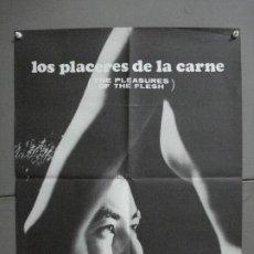 Cine: CDO 2177 LOS PLACERES DE LA CARNE NAGISA OSHIMA POSTER ORIGINAL 48X62 ESTRENO. Lote 203365416