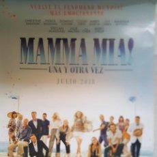 Cine: PÓSTER ORIGINAL MAMMA MIA UNA Y OTRA VEZ. Lote 203437790