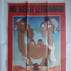 Cine: ANTIGUO CARTEL CINE MI BELLO LEGIONARIO + 12 FOTOCROMOS 1977 LYNCH GUILLOTIN CC131. Lote 203550483