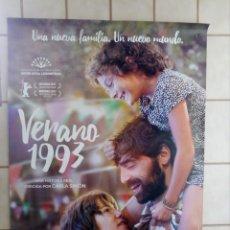 Cinema: CARTEL CINE VERANO 1993 - 98X68. Lote 203596195
