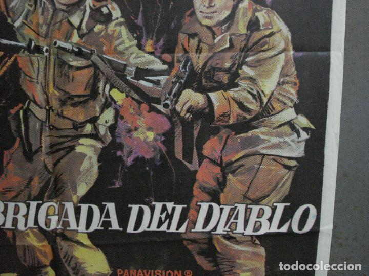 Cine: CDO 2184 LA BRIGADA DEL DIABLO WILLIAM HOLDEN MAC POSTER ORIGINAL 70X100 ESTRENO - Foto 8 - 203785703