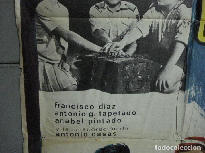 Cine: CDO 2205 EL TESORO DEL CASTILLO ANTONIO CASAS POSTER ORIGINAL 70X100 ESTRENO - Foto 4 - 203794110