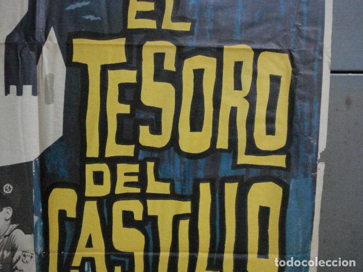 Cine: CDO 2205 EL TESORO DEL CASTILLO ANTONIO CASAS POSTER ORIGINAL 70X100 ESTRENO - Foto 7 - 203794110