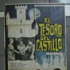 Cine: CDO 2205 EL TESORO DEL CASTILLO ANTONIO CASAS POSTER ORIGINAL 70X100 ESTRENO. Lote 203794110