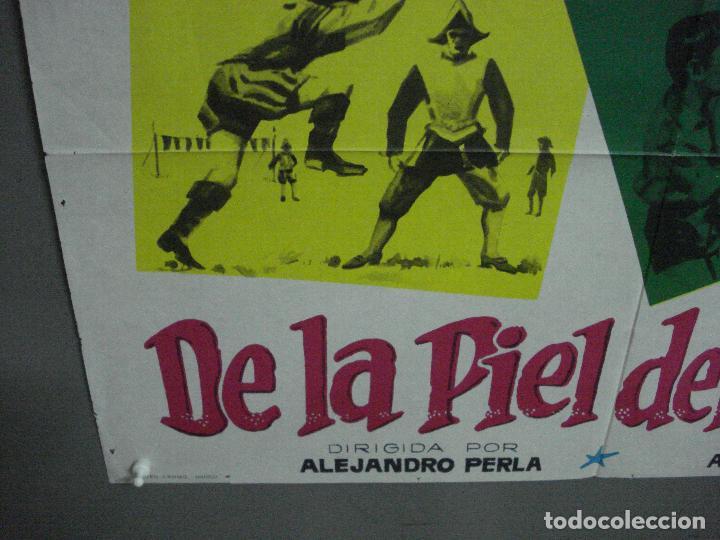 Cine: CDO 2215 DE LA PIEL DEL DIABLO TONY DEL VALLE VENANCIO MURO POSTER ORIGINAL 70X100 ESTRENO - Foto 5 - 203802921