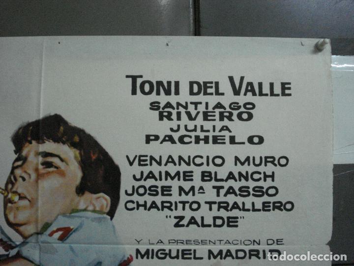 Cine: CDO 2215 DE LA PIEL DEL DIABLO TONY DEL VALLE VENANCIO MURO POSTER ORIGINAL 70X100 ESTRENO - Foto 6 - 203802921
