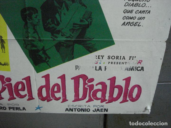 Cine: CDO 2215 DE LA PIEL DEL DIABLO TONY DEL VALLE VENANCIO MURO POSTER ORIGINAL 70X100 ESTRENO - Foto 9 - 203802921