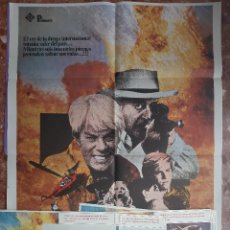 Cine: CARTEL + 8 FOTOCROMOS SPREE 1981 PETER GRAVES RAY MILLAND DIRECTOR LARRY SPIEGEL. Lote 203803078