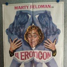 Cinema: EL EROTICÓN. MARTY FELDMAN, JUDY CORNWELL, GARRY MILLER. AÑO 1976. POSTER ORIGINAL. Lote 203803598