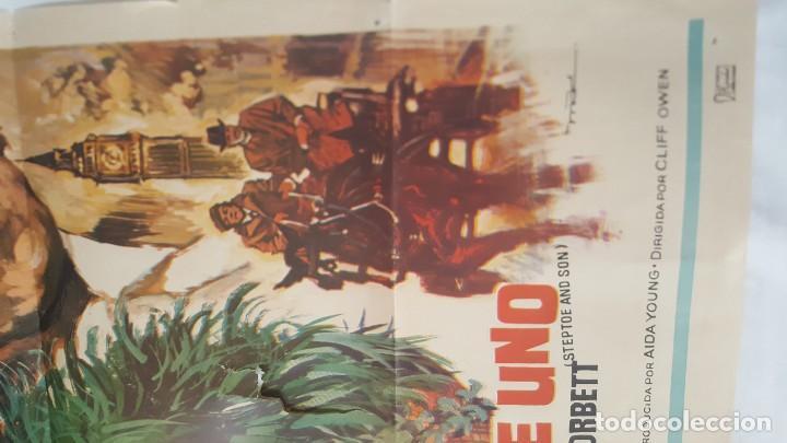 Cine: PÓSTER ORIGINAL PADRE NO HAY MÁS QUE UNO 1973 - Foto 2 - 203816452
