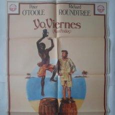 Cine: ANTIGUO CARTEL CINE YO VIERNES + 12 FOTOCROMOS 1976 JANO CC137. Lote 203818468