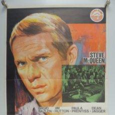 Cine: CARTEL DE CINE ZAFARRANCHO EN EL CASINO DEL AÑO 1975 STEVE MCQUEEN. Lote 203842935