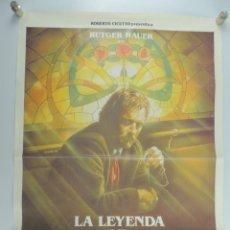 Cine: CARTEL DE CINE LA LEYENDA DEL SANTO BEBEDOR DEL AÑO 1988. Lote 203843120