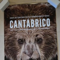 Cine: POSTER CINE DE CANTÁBRICO. Lote 203883562