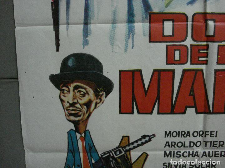 Cine: CDO 2231 DOS DE LA MAFIA FRANCO FRANCHI CICCIO INGRASSIA POSTER ORIGINAL 70X100 ESTRENO - Foto 4 - 203892355