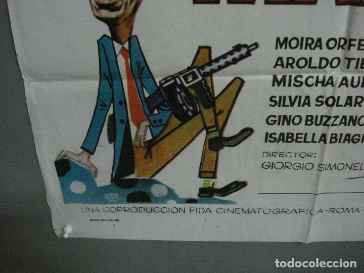 Cine: CDO 2231 DOS DE LA MAFIA FRANCO FRANCHI CICCIO INGRASSIA POSTER ORIGINAL 70X100 ESTRENO - Foto 5 - 203892355