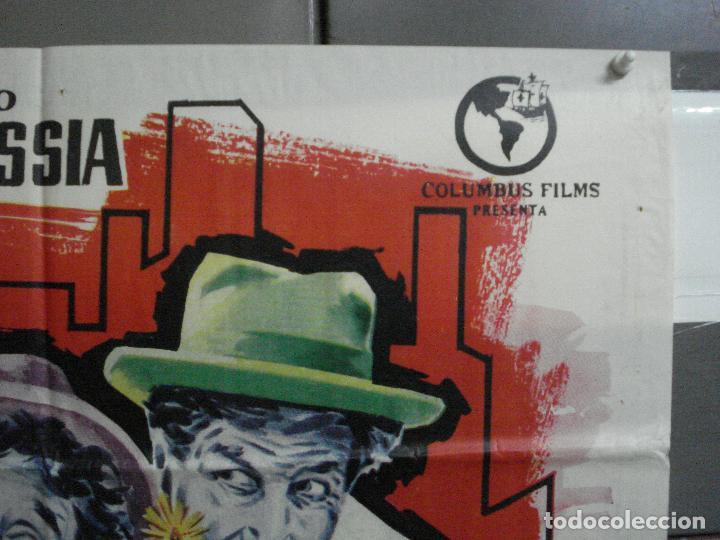 Cine: CDO 2231 DOS DE LA MAFIA FRANCO FRANCHI CICCIO INGRASSIA POSTER ORIGINAL 70X100 ESTRENO - Foto 6 - 203892355