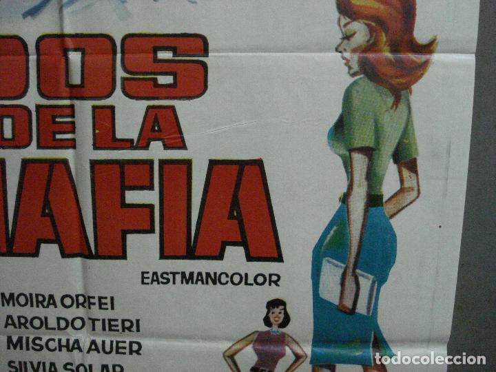 Cine: CDO 2231 DOS DE LA MAFIA FRANCO FRANCHI CICCIO INGRASSIA POSTER ORIGINAL 70X100 ESTRENO - Foto 8 - 203892355