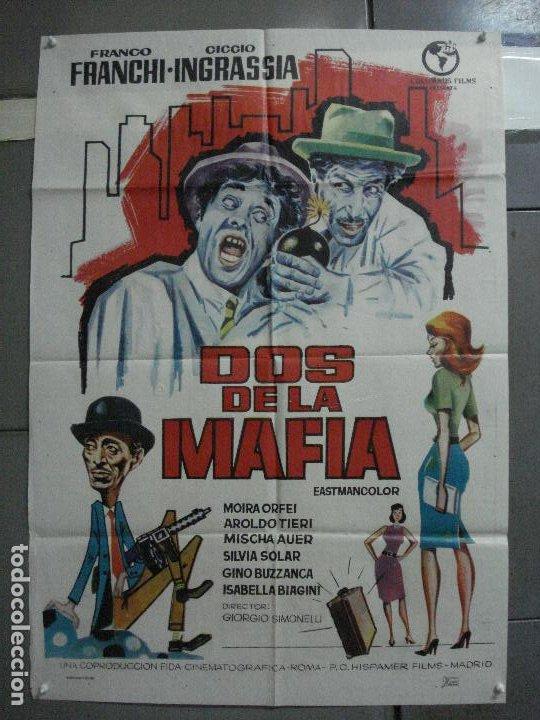 CDO 2231 DOS DE LA MAFIA FRANCO FRANCHI CICCIO INGRASSIA POSTER ORIGINAL 70X100 ESTRENO (Cine - Posters y Carteles - Comedia)