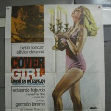 Cine: CDO 2233 COVER GIRL AMOR EN UN ESPEJO GERMAN LORENTE BEBA LONCAR POSTER ORIGINAL 70X100 ESTRENO. Lote 203892667
