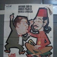 Cinéma: CDO 2236 LOS EXTREMEÑOS SE TOCAN ANTONIO GARISA JAIME DE MORA PAJARES POSTER ORIGINAL 70X100 ESTRENO. Lote 203893245