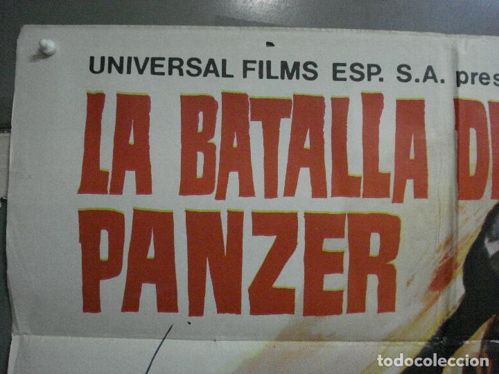 Cine: CDO 2248 LA BATALLA DEL ULTIMO PANZER RUBEN GUSTAVO ROJO GUY MADISON POSTER ORIGINAL 70X100 ESTRENO - Foto 2 - 203898961
