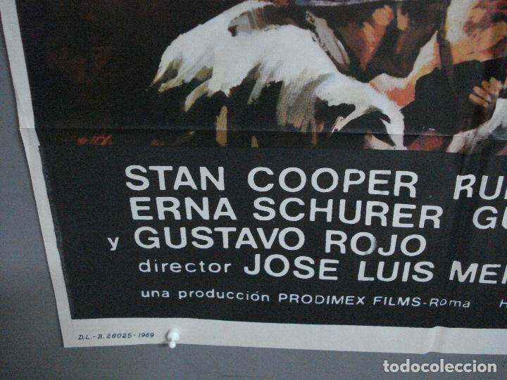 Cine: CDO 2248 LA BATALLA DEL ULTIMO PANZER RUBEN GUSTAVO ROJO GUY MADISON POSTER ORIGINAL 70X100 ESTRENO - Foto 5 - 203898961