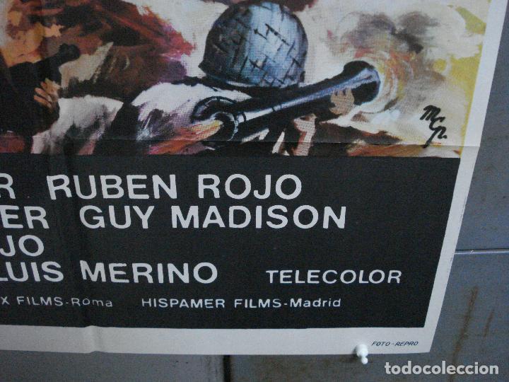 Cine: CDO 2248 LA BATALLA DEL ULTIMO PANZER RUBEN GUSTAVO ROJO GUY MADISON POSTER ORIGINAL 70X100 ESTRENO - Foto 9 - 203898961