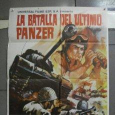 Cine: CDO 2248 LA BATALLA DEL ULTIMO PANZER RUBEN GUSTAVO ROJO GUY MADISON POSTER ORIGINAL 70X100 ESTRENO. Lote 203898961
