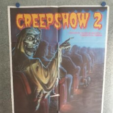 Cine: CREEPSHOW 2. GEORGE KENNEDY, DOROTHY LAMOUR, LOIS CHILES POSTER ORIGINAL. Lote 203928431