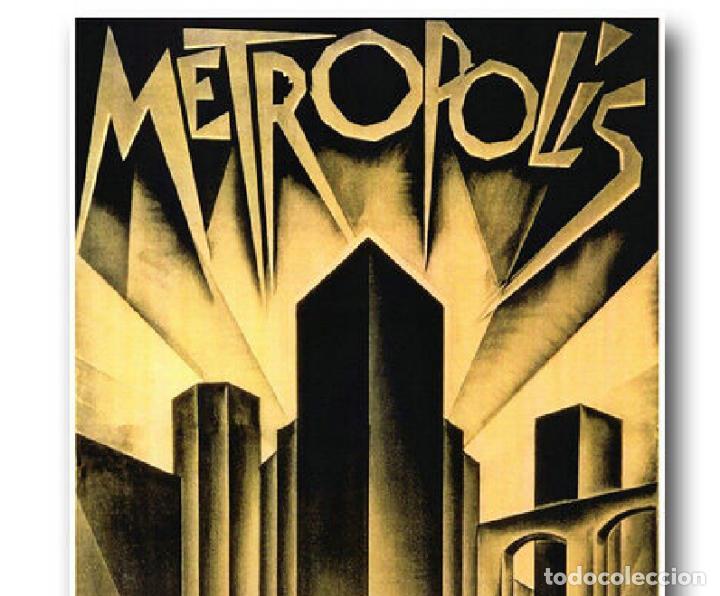 Cine: cartel en tela película Metropolis de Fritz Lang - Foto 2 - 200321205