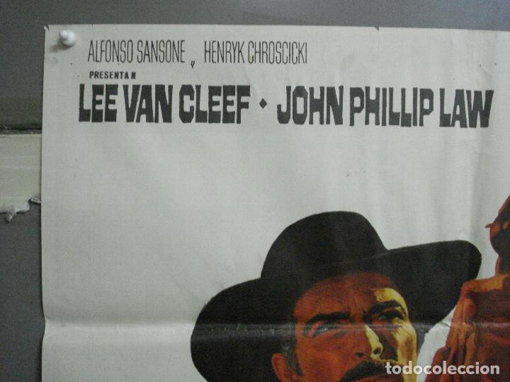 Cine: CDO 2274 DE HOMBRE A HOMBRE LEE VAN CLEEF SPAGHETTI POSTER ORIGINAL 70X100 ESTRENO - Foto 2 - 203981662
