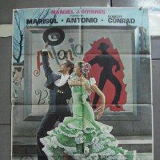 Cine: CDO 2283 LA NUEVA CENICIENTA MARISOL ANTONIO POSTER ORIGINAL 70X100 ESTRENO. Lote 203991545