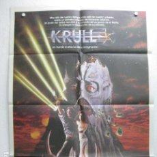 Cine: KRULL - POSTER CARTEL ORIGINAL - KEN MARSHALL LYSETTE ANTHONY PETER HAYES FRANCESCA ANNIS. Lote 203996970