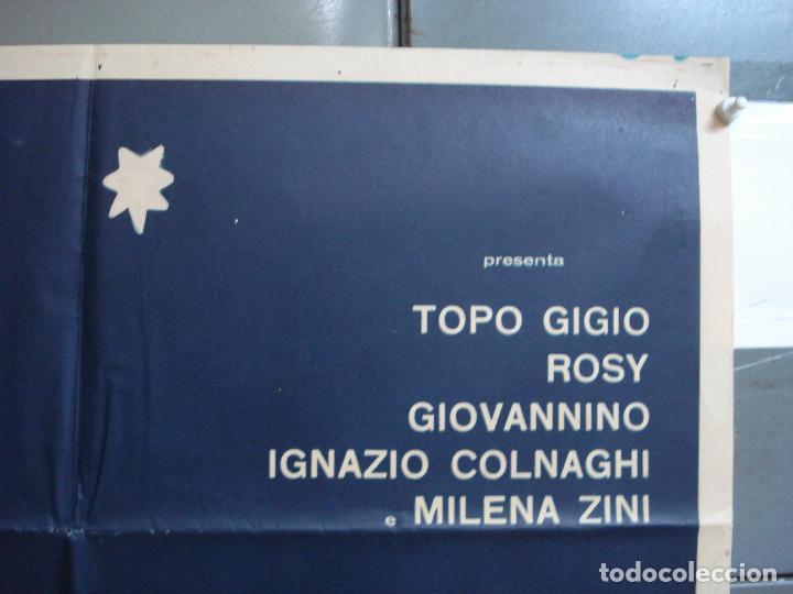 Cine: CDO 2308 LAS AVENTURAS DE TOPO GIGIO POSTER ORIGINAL 70X100 ESTRENO - Foto 6 - 204004997