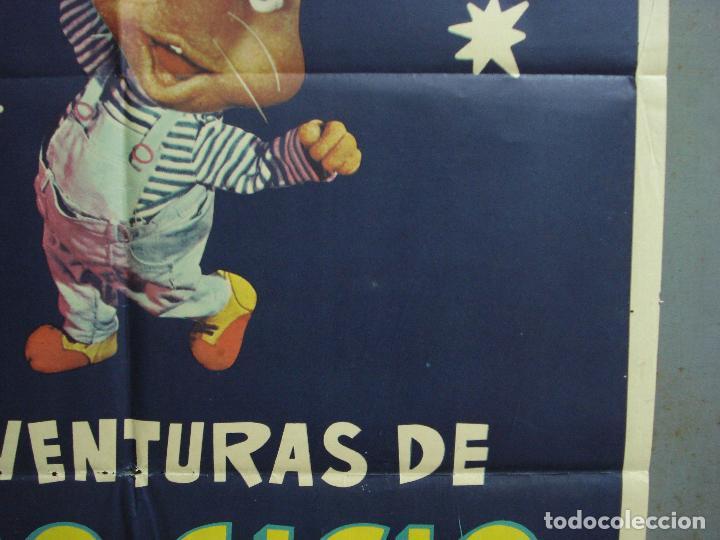 Cine: CDO 2308 LAS AVENTURAS DE TOPO GIGIO POSTER ORIGINAL 70X100 ESTRENO - Foto 8 - 204004997