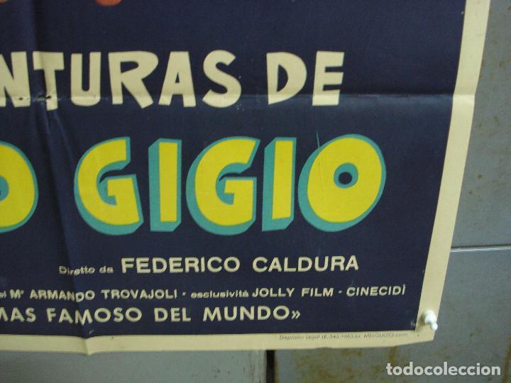 Cine: CDO 2308 LAS AVENTURAS DE TOPO GIGIO POSTER ORIGINAL 70X100 ESTRENO - Foto 9 - 204004997