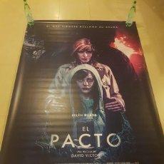 Cine: POSTER LONA EL PACTO - CINE ORIGINAL. Lote 204105391