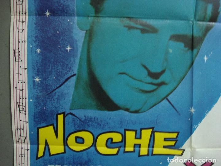 Cine: CDO 2350 NOCHE Y DIA CARY GRANT ALBERICIO POSTER ORIGINAL 70X100 ESPAÑOL R-67 - Foto 3 - 204140446