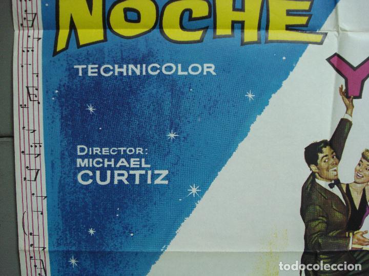 Cine: CDO 2350 NOCHE Y DIA CARY GRANT ALBERICIO POSTER ORIGINAL 70X100 ESPAÑOL R-67 - Foto 4 - 204140446